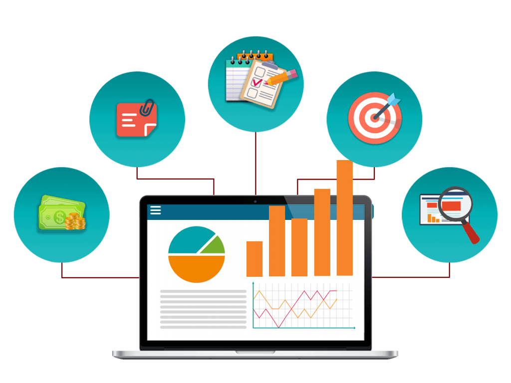 Comprehensive reports for data transparency in web based dashboard