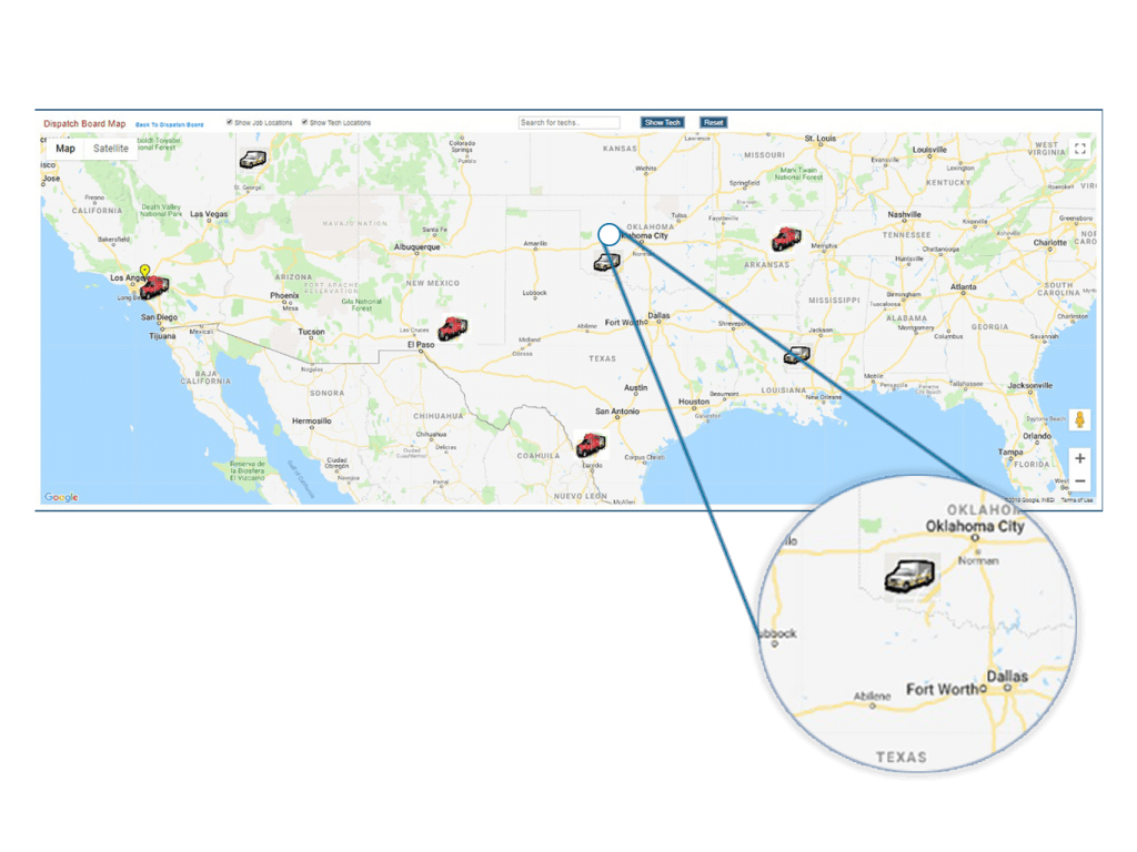 vehicle and equipment tracking on web