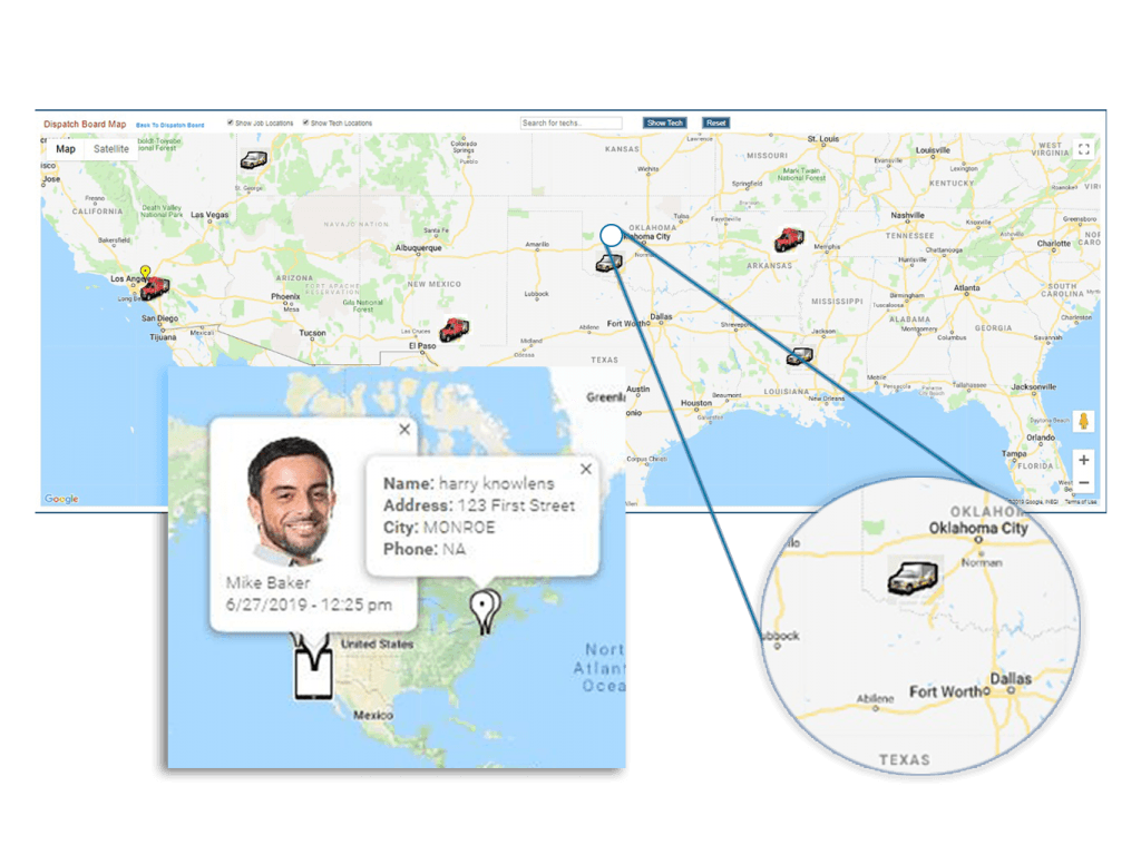 Equipment and vehicle location tracking